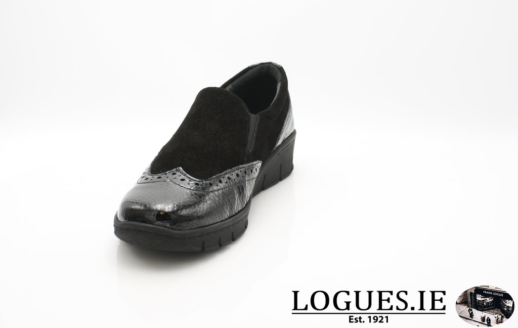 SADIE SOFT MODE AW18LadiesLogues ShoesBLACK / 40 = 6.5/7 UK