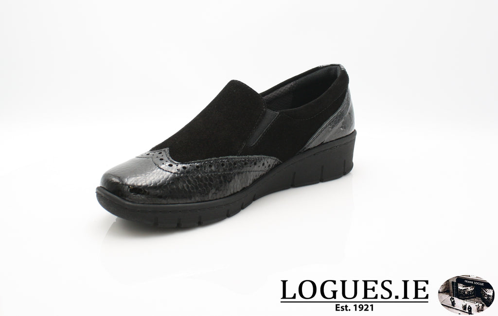 SADIE SOFT MODE AW18-Ladies-SOFTMODE ORION DISTRIBUTION-BLACK-41 = 7/8 UK-Logues Shoes