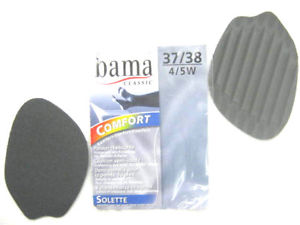 SOLETTE HALF INSOLE-Shoe Care-BAMA / KIWI POLISH-GREY-37-38EU 4-5 UK-Logues Shoes