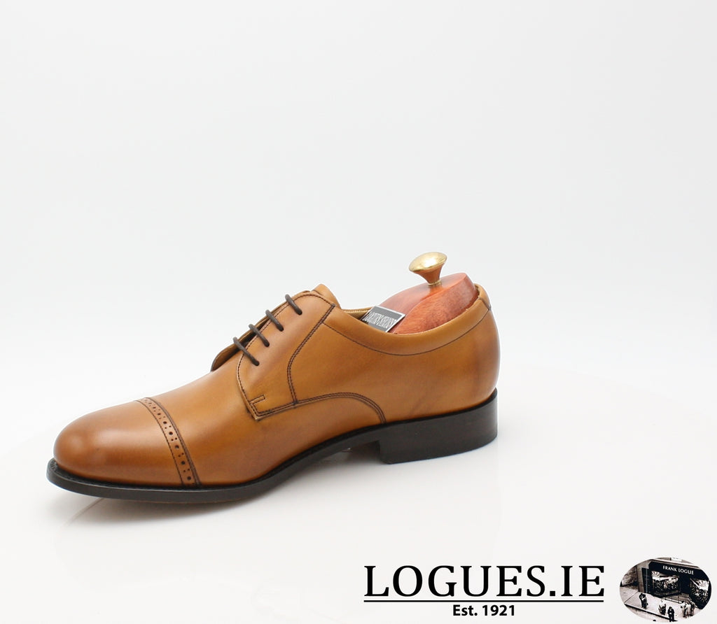 STAINES BARKER-Mens-BARKER SHOES-CEDAR-8.5-Logues Shoes