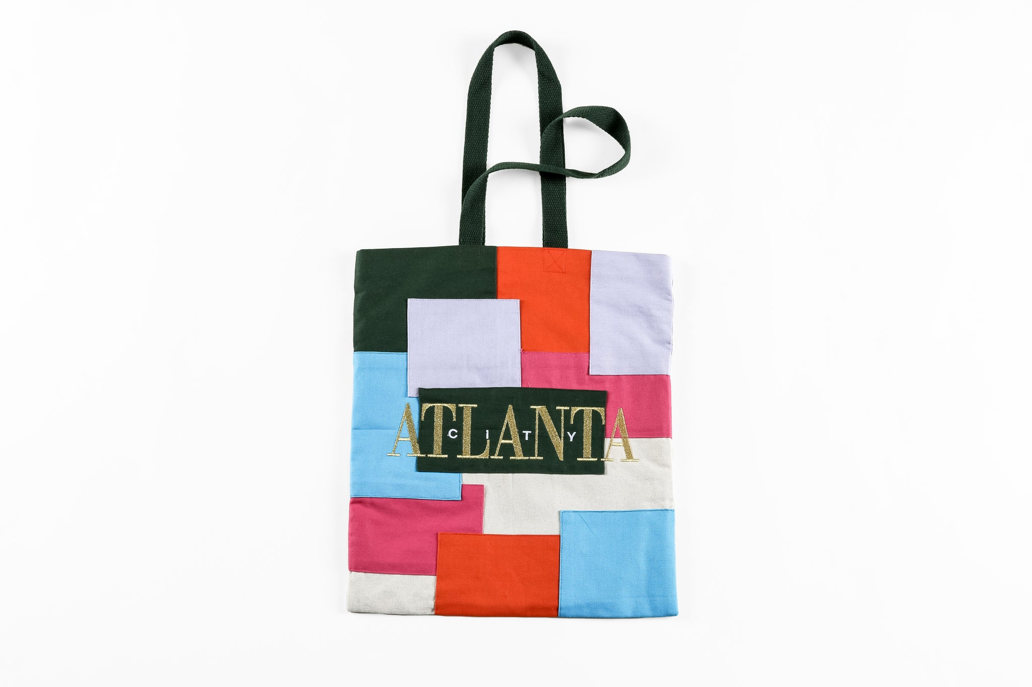 atl1996 Limited Edition Patchwork Tote Bag