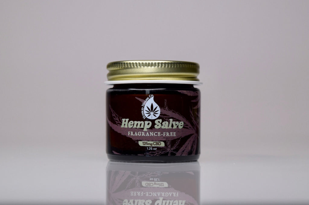 Fragrance Free Hemp Salve