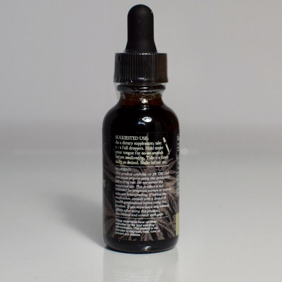500mg Natural Hemp Drops - FULL SPECTRUM