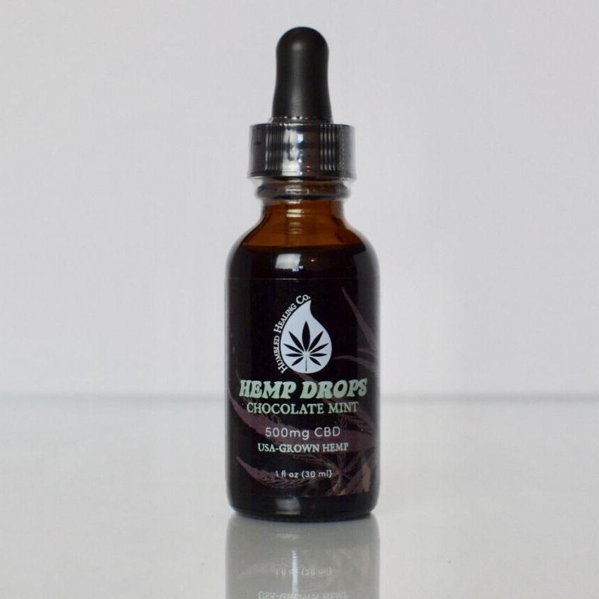 Pure CBD Chocolate Mint Hemp Drops