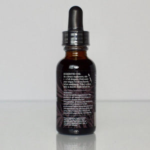 Pure CBD Vanilla Hemp Drops