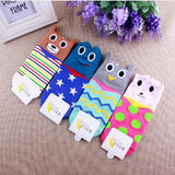 S04 - Socks For Girls / Women With Cartoon Animals Design - 4 Design Choices
