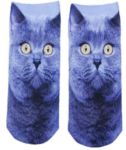 S03 - Cat Fun Socks For Girls & Women - 4 Design Choices