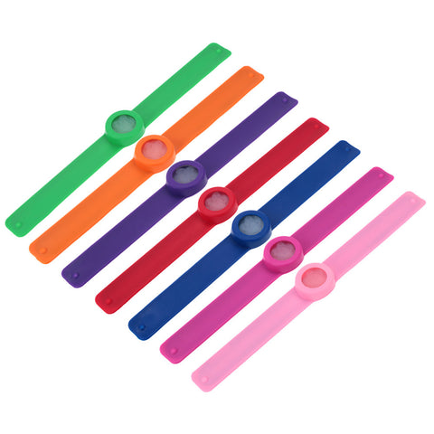 W6 - Mosquito Repellent Slap Wristband Bracelet Infused With Lemongrass Citronella