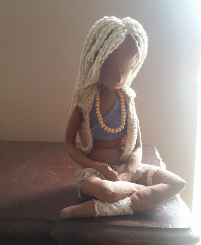 H6 - Handmade Surfer Girl Doll By Robyn, South Africa
