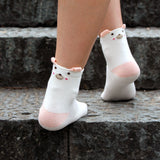 S17 - Socks For Girls / Women With Cartoon Animals Design - 3 Design Choices
