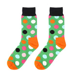 S11 - Multicolor Polka Dots Unisex Long Socks - 7 Design Choices