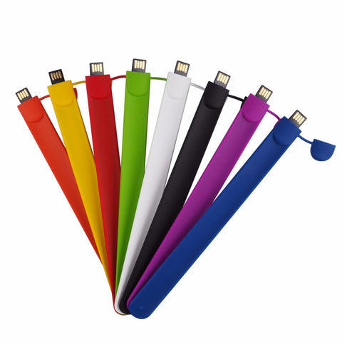 U3 - Slap Band Flash Drives 4GB To 64GB USB 2.0