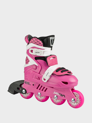 Patin JUNIOR PINK/WHITE - Rocking Skates - Seba