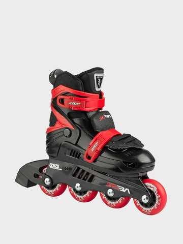 Patin JUNIOR BLACK/RED - Rocking Skates - Seba