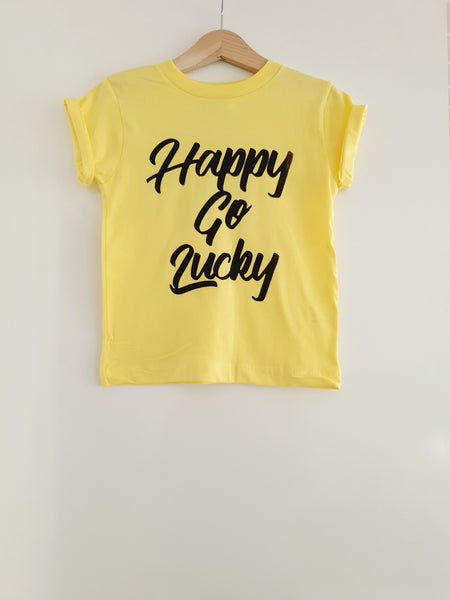 Happy Go Lucky Kids Tee