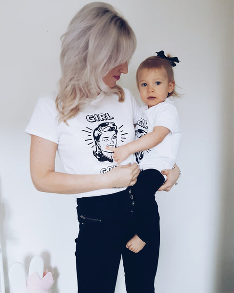 Girl Code Adult/Kid Twinning Tee Set