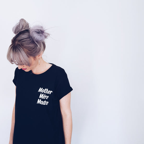Mother Mere Madre Adult Tee