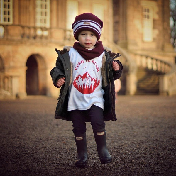 BORN TO ROAM Kids Tee