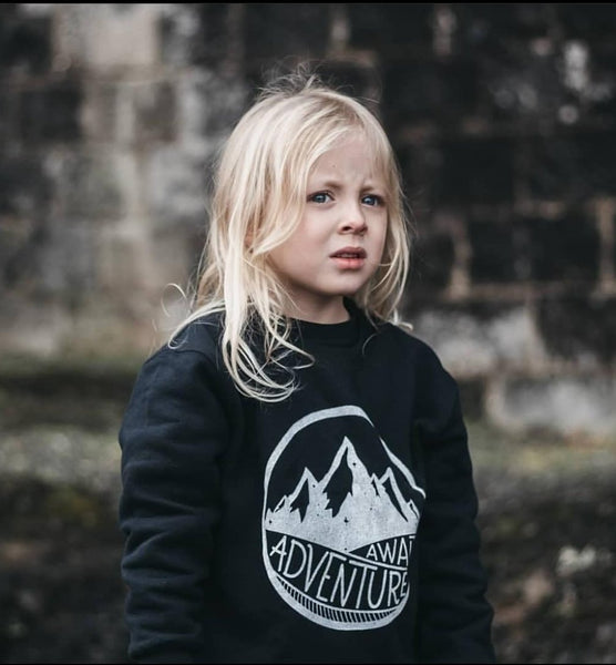 Adventure Awaits Kids Sweatshirt
