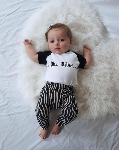 'Wee Blether' Bodysuit or Tee