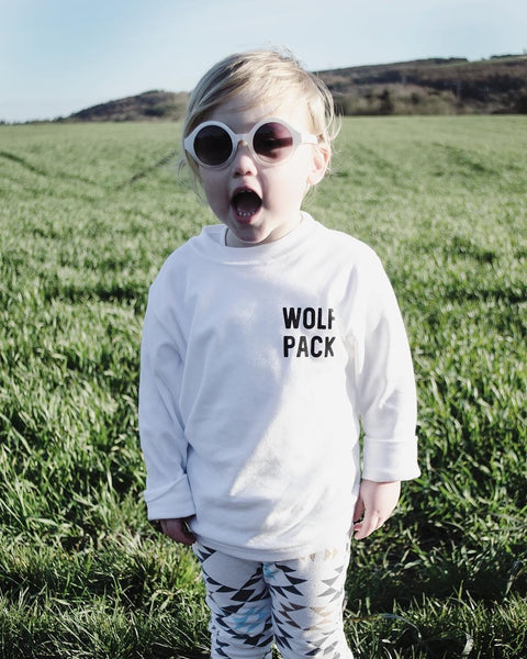 Long Sleeve Wolf Pack Kids Tee