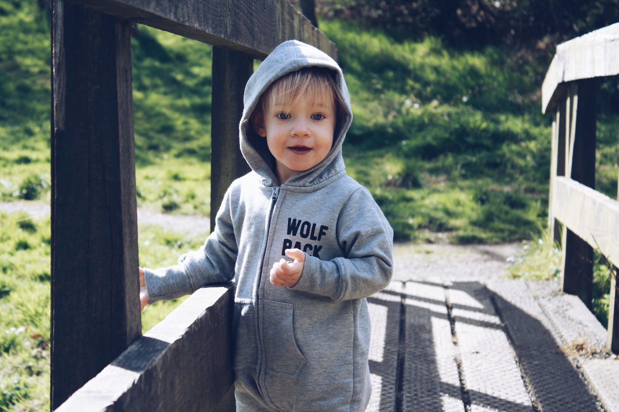 Wolf Pack Kids Romper