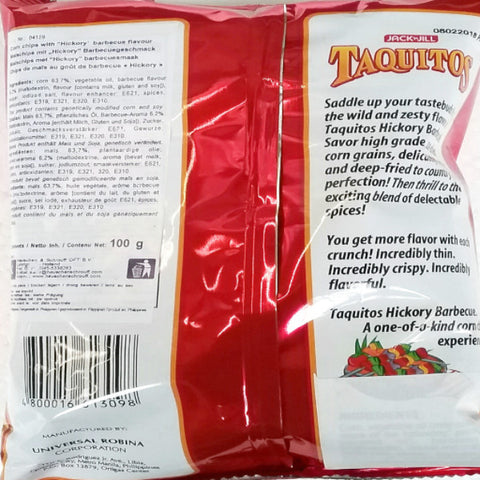 Maischips mit Barbecuegeschmack Chippy 100g