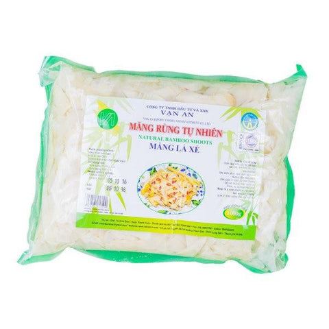 Bambus Shoot Natural 1kg Van An - Măng lá xé Vạn An
