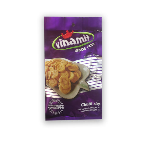 Banananchips Vinamit 100g - Chuối sấy