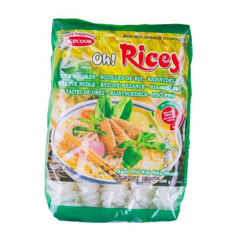 Reisbandnudeln Oh! Ricey 500g - Phở Oh! Ricey