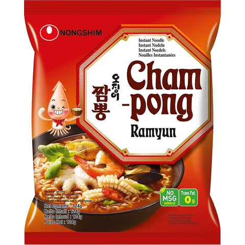 Instantnudeln Champong Nongshim 125g
