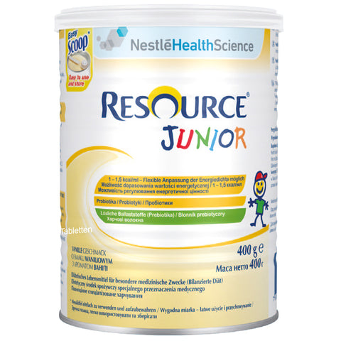 RESOURCE® JUNIOR Vanille-Geschmack 400g - Sữa Nestle Resource Junior vị Vanille - Herstellt in der Schweiz