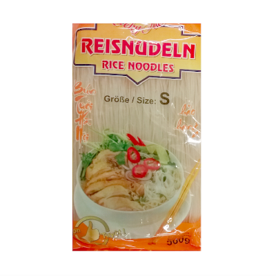 Reis Vermicelli (dünne Band) Lucky food 500g- Bún lucky food sợi nhỏ