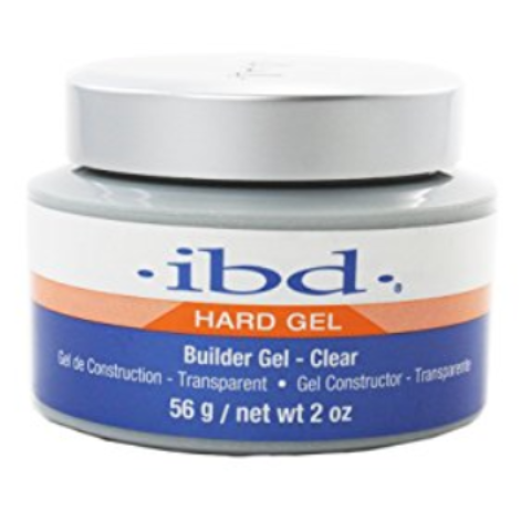 IBD Hard Gel Builder Gel Clear - Gel Klar 56g