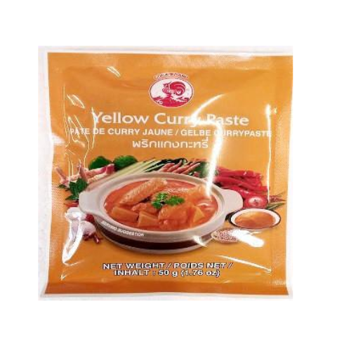 Gelbe Currypaste Cookbrand 50g