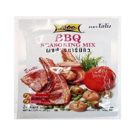 Barbecue Mix-Barbecue Würzmischung 35g Lobo