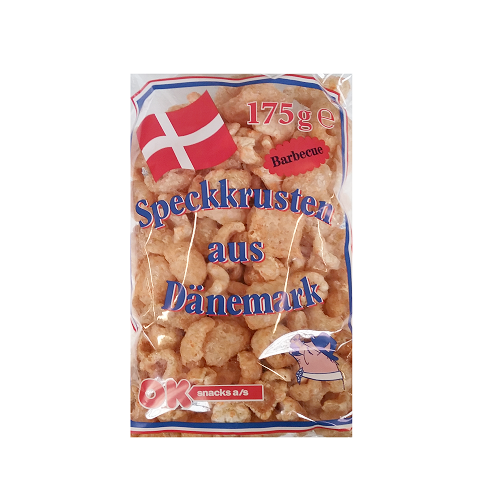 Speckkrusten 175g Barbecue Ok Snacks