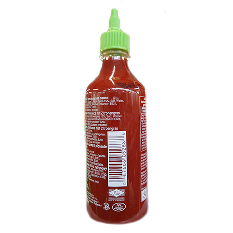 Sriracha Hot Chili Lemon Grass Sauce Thailand 455ml