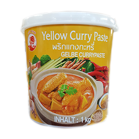 Gelbe Currypaste Cockbrand Thailand 1kg - Curry vàng