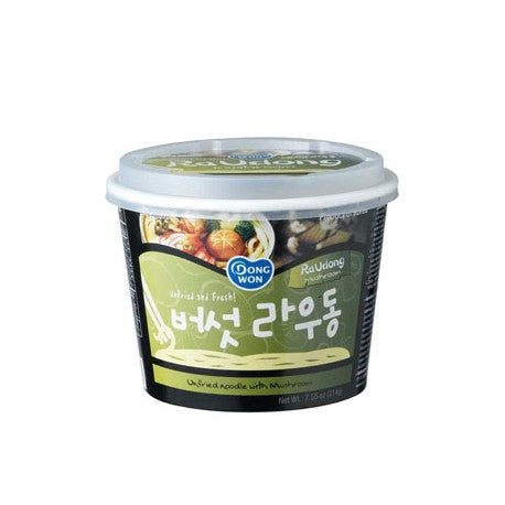 DongWon Instantnudeln RaUdong-Nudelsuppe mit Pilze 214g