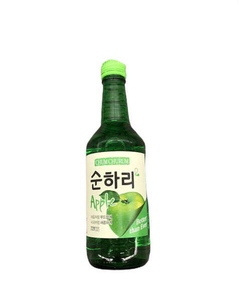Chum Churum Apple 12% 360ml- Rượu Soju vị táo 12% 360ml