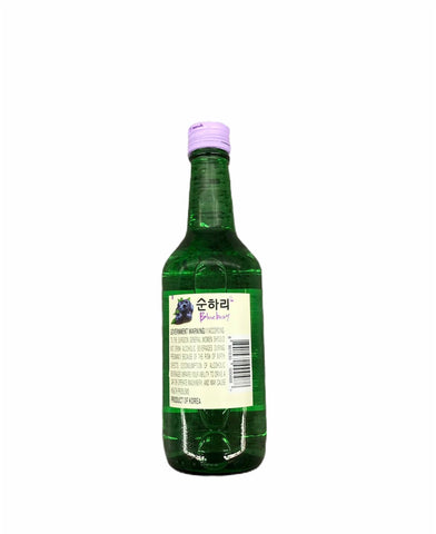 Chum Churum Blueberry Geschmack 360ml- soju Vị Việt quất 360ml