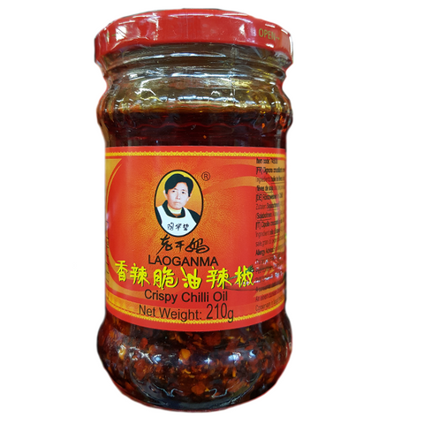 Chili in Öl Laoganma aus China 210g