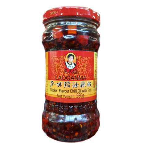 Chilipaste in Sojaöl Laoganma China 280g