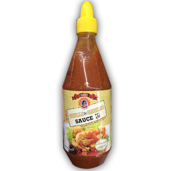Chilli & Garlic Sauce SUREE 200ml- tương ớt tỏi SUREE Thailand 200ml