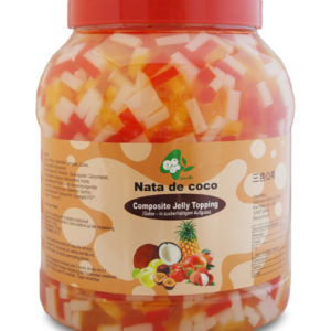 Composite Jelly Topping 4 Kg - Thạch thập cẩm 4 Kg BoboQ