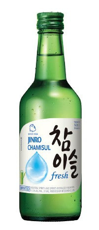 Jinro Chamisul Fresh Soju 17,2% 350ml- Rượu soju Fresh 17,2% 350ml