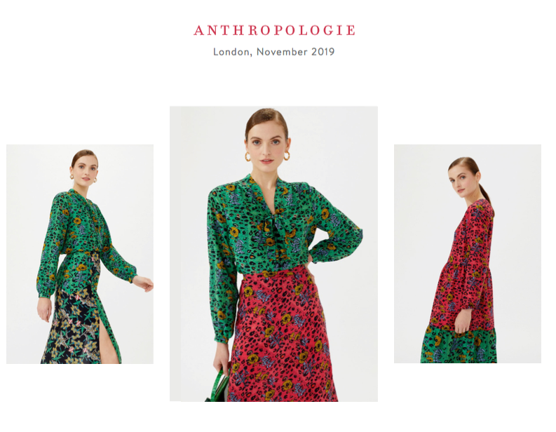 JESSICA RUSSELL FLINT X ANTHROPOLOGIE