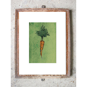 "Signed Print / ""A Carrot"""