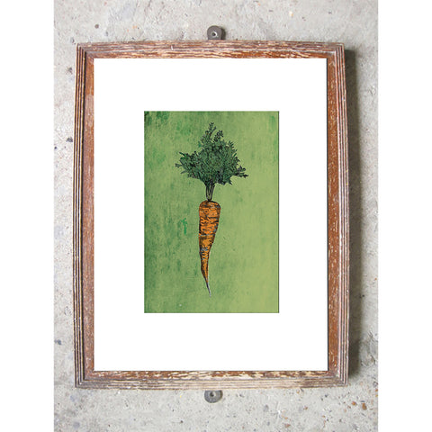 "Limited Edition Print / ""A Carrot"""